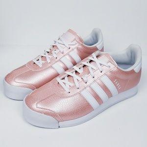 Adidas Samoa Rose Gold/Ice Pink ortholite sz 7